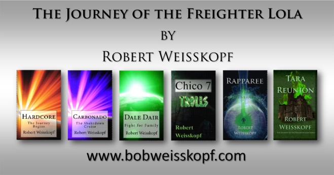6 book journey of the freighter lola on silver weisskopf
